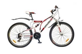 """Велосипед горный Optimabikes Detonator AM2 14G 2015 - 26"""", рама - 19"""", белый (PCT*-OP-26-019-1)"""