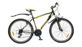 """Велосипед горный Optimabikes Sprinter AM 14G 2015 - 26"""", рама - 17"""", черно-желтый (PCT*-OP-26-005-1)"""