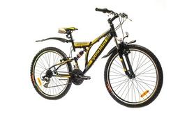 """Велосипед горный Optimabikes Detonator AM2 14G 2015 - 26"""", рама - 19"""", черно-желтый (PCT*-OP-26-016-1)"""