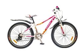 """Велосипед подростковый горный Optimabikes Florida AM 14G St 2015 - 24"""", рама - 12"""", бело-розовый (PCT*-OP-24-000-1)"""