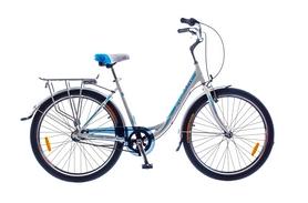 """Велосипед городской женский Optimabikes Vision (Planetary HUB) 2015 - 26"""", рама - 18"""", бело-голубой (SKDCH*-OP-26-052-1)"""