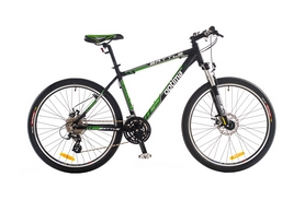 "Велосипед горный Optimabikes Battle AM DD Al SKD 2014 - 26"", рама - 20"", черно-зеленый (SKD-OP-26-023-1)"