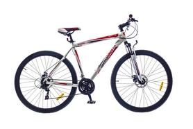 """Велосипед горный Optimabikes F-1 AM DD Al SKD 2015 - 26"""", рама - 18"""", бело-красный (SKDCH-OP-26-027-1)"""