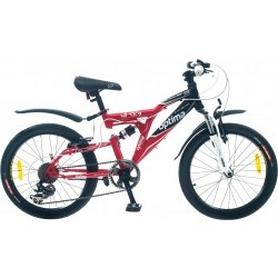 """Велосипед подростковый горный OptimabikesS Messer AM2 DD St 2014 - 24"""", рама - 14"""", черно-красный (PCT*-OP-24-011-1)"""