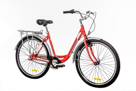 Фото 2 к товару Велосипед городской женский Optimabikes Vision 14G планет. Al 2016 26