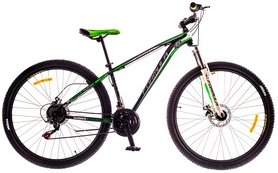 "Велосипед горный Formula Dragonfly AM 14G DD St 2016 - 29"", рама - 16"", зеленый (OPS-FR-29-009-1)"