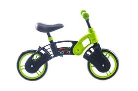 """Беговел детский Small Rider Pl 10"""" 2014 черно-зеленый"""
