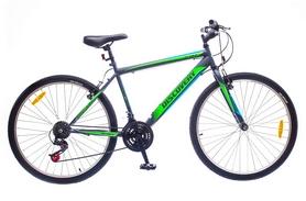 """Велосипед городской Discovery Attack 14G Vbr St 26"""" 2016 зелено-черный рама - 18"""""""
