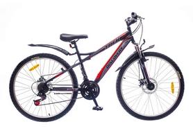 """Велосипед горный Discovery Trek AM 14G DD St 26"""" черно-серо-красный 2016 рама – 15"""""""