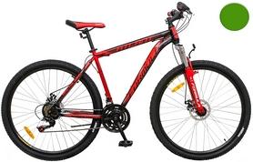 """Велосипед горный Formula Atlant AM 14G DD 2016 - 29"""", рама - 20"""", черно-салатный (OPS-FR-29-004-1)"""