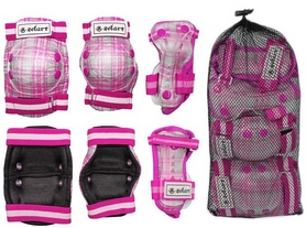 Фото 2 к товару Защита детская наколенники, налокотники, перчатки ZEL SK-4678P