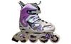 Коньки роликовые раздвижные ZEL Z-805V Grace фиолетовый - фото 1