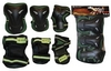 Защита для катания (комплект) Zel SK-3505 зеленая - фото 1