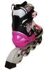 Коньки роликовые раздвижные Zel Z-098P розовые - фото 3