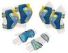 Защита для катания (комплект) Zel Perfection SK-4685BY сине-желтая - фото 1