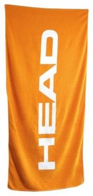 Полотенце Head Sport хлопок 140*70 см оранжевое