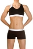 Купальник женский Head Splice Bikini Plus черно-белый - фото 2