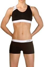 Фото 2 к товару Купальник женский Head Splice Bikini Plus черно-белый