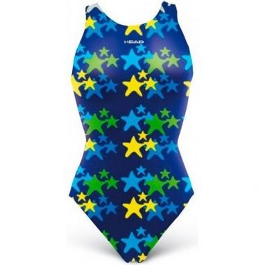 Купальник детский Head Starfish Girl синий