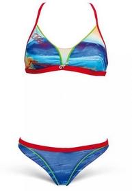 Купальник женский Head Swim Bikini Lady -PBT голубо-салатный
