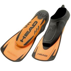 Фото 1 к товару Ласты для басейна Head Energy черно-оранжевые