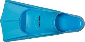Ласты для бассейна Head Soft голубые, размер 33-34