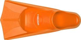Ласты для бассейна Head Soft оранжевые, размер 37-38