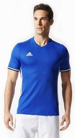 Фото 1 к товару Футболка футбольная Adidas Condivo 16 JSY синяя