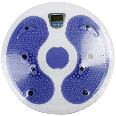Диск напольный для фитнеса с электронным дисплеем Joerex Electrical Body Trimmer