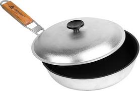 Сковорода походная с антипригарным покрытием с ручкой БЛС 26