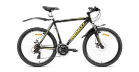 "Велосипед горный Avanti Meteorite 26"" 2016 черно-желтый рама - 17"""