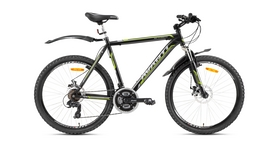 "Велосипед горный Avanti Meteorite 26"" 2016 черно-серый рама - 19"""