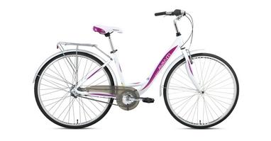 Велосипед городской женский Avanti Blanco 28'' 2016 бело-розовый рама - 17