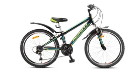 """Велосипед детский Avanti Dakar 24 2016 черно-голубой рама - 11"""""""