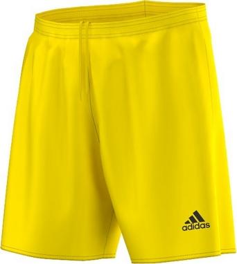 Шорты футбольные Adidas Parma 16 SHO желтые