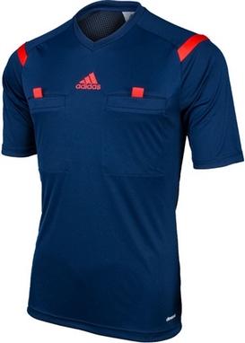 Футболка арбитра Adidas REF 14 JSY синяя
