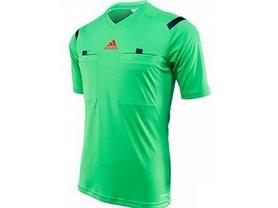 Футболка арбитра Adidas REF 14 JSY зеленая