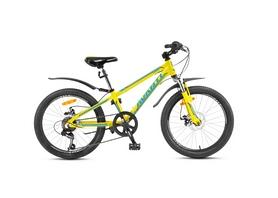 Фото 1 к товару Велосипед детский Avanti Turbo 20'' Disk 2016 желто-серый рама - 10