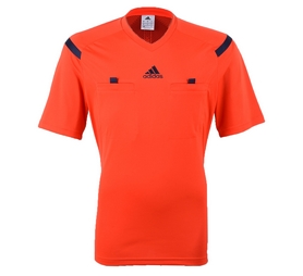 Футболка арбитра Adidas REF 14 JSY оранжевая