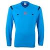 Футболка арбитра с длинным рукавом Adidas REF 14 JSY LS голубая - фото 1