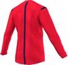 Футболка арбитра с длинным рукавом Adidas REF 14 JSY LS красная - фото 2