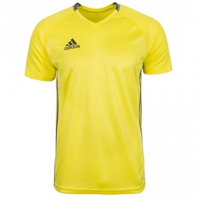 Футболка футбольная Adidas Condivo 16 TRG JSY желтая