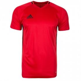 Фото 1 к товару Футболка футбольная Adidas Condivo 16 TRG JSY красная