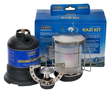 Набор газовая портативная горелка и светильник Cadac Eazi Kit