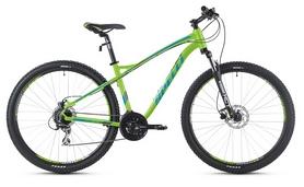 """Велосипед горный Spelli SX-5200 29ER 2016 зеленый с голубым матовый - 17"""""""