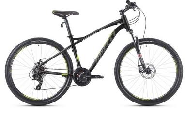 Велосипед горный Spelli SX-3700 29ER 2016 черно-зеленый матовый - 17