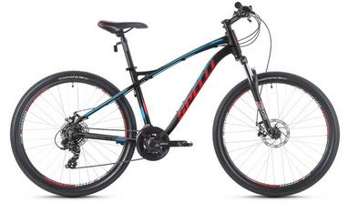 Велосипед горный Spelli SX-3700 29ER 2016 черно-красный матовый - 17