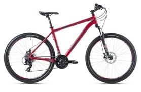 """Велосипед горный Spelli SX-2500 29ER 2016 красно-серебристый матовый - 17"""""""