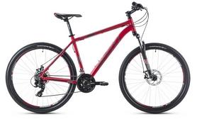 """Велосипед горный Spelli SX-2500 29ER 2016 красно-серебристый матовый - 19"""""""