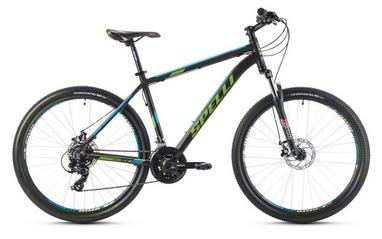 Велосипед горный Spelli SX-2500 29ER 2016 черно-голубой матовый - 21